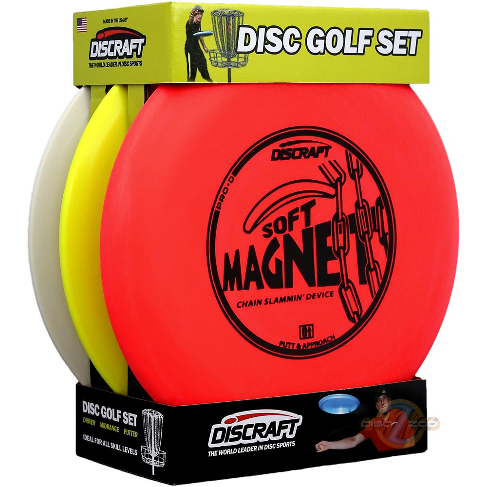 Discraft 3-Disc Beginner Set