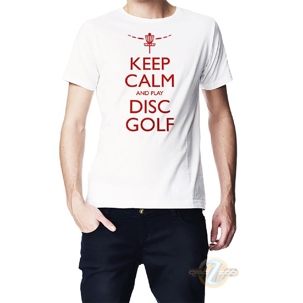 Keep Calm and Play Disc Golf T-Shirt