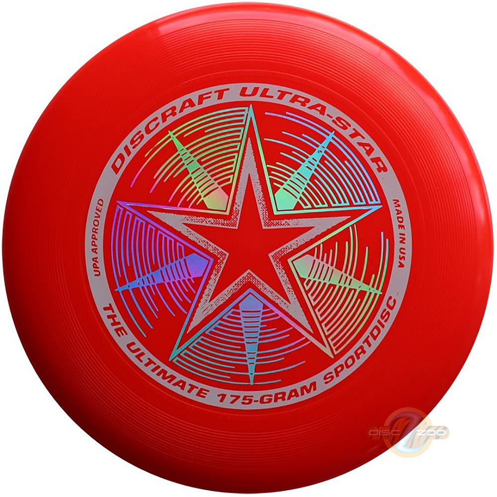 Discraft Ultra-Star Bright Red
