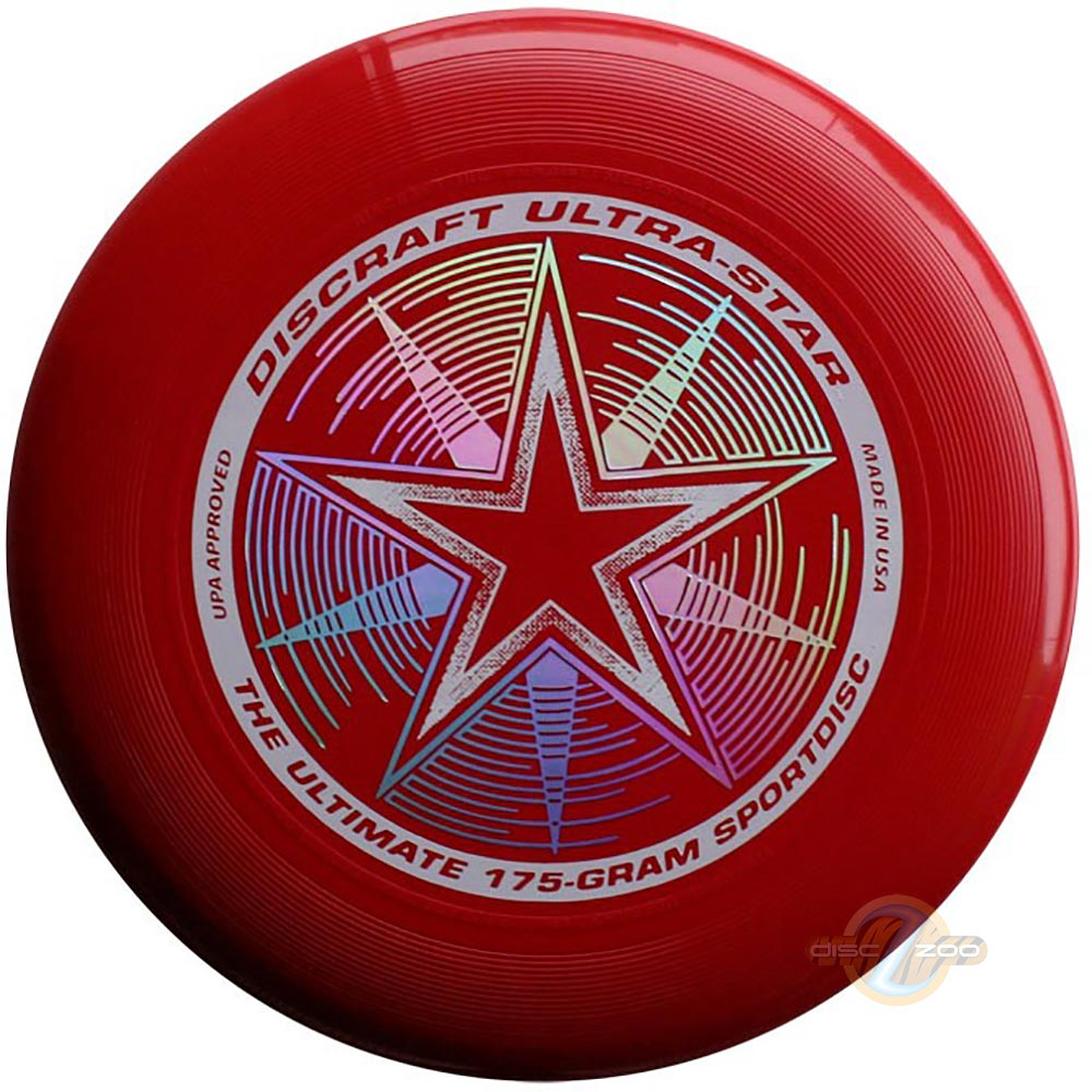 Discraft Ultra-Star Dark Red