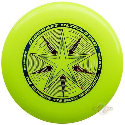 Discraft Ultra-Star Yellow