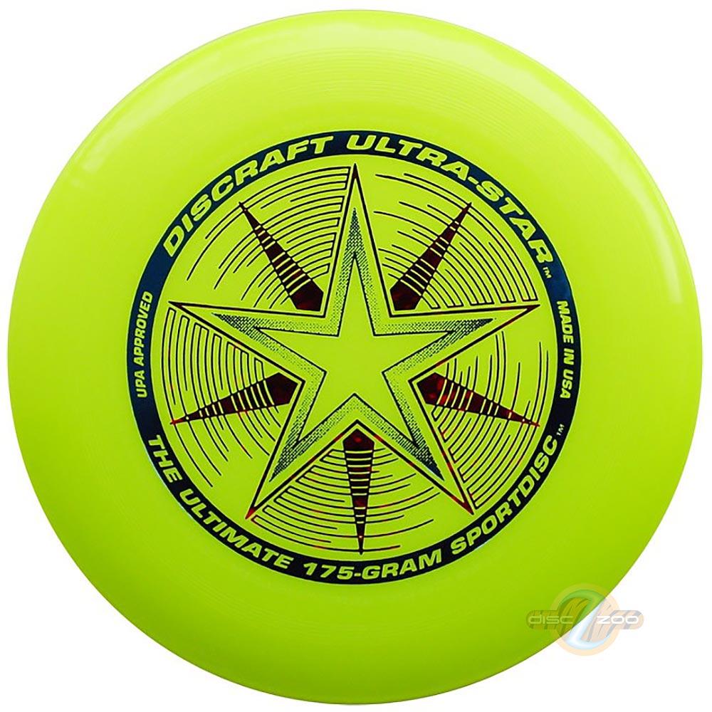 Discraft Ultra-Star Yellow