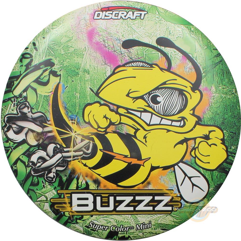 Discraft Mini SuperColor Buzzz - Bright Green