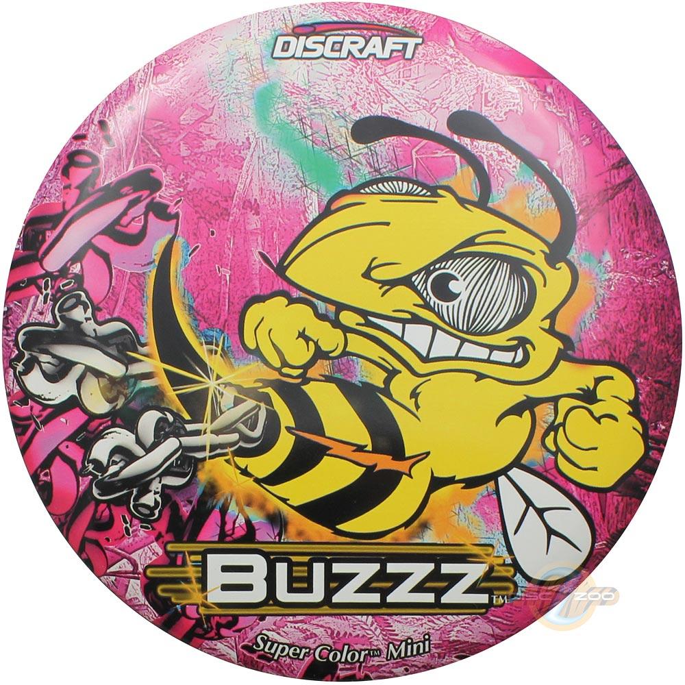 Discraft Mini SuperColor Buzzz - Pink
