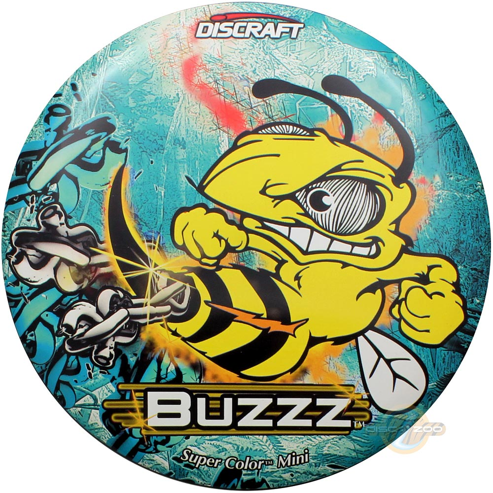 Discraft Mini SuperColor Buzzz - Light Blue