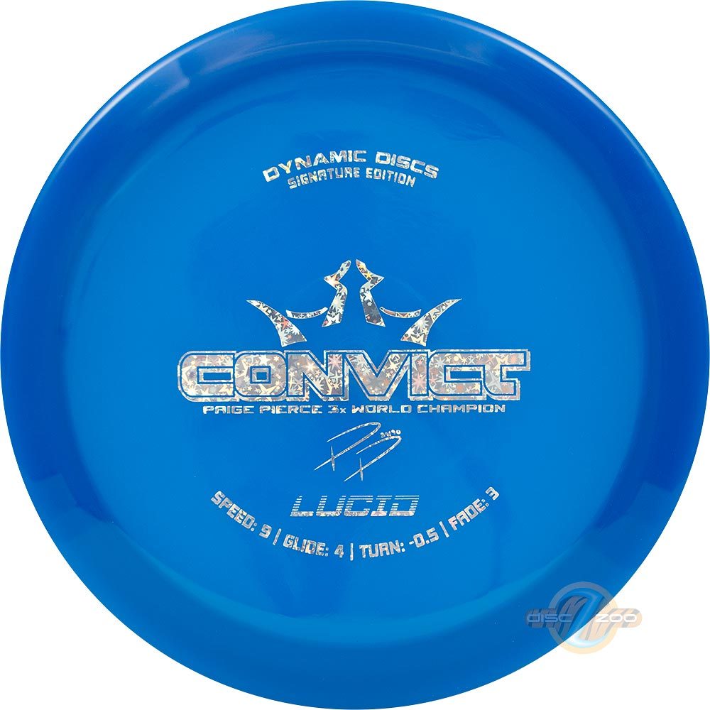 Dynamic Discs Lucid Convict Page Pierce Signature Disc