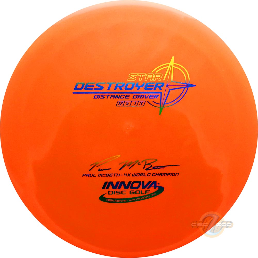 Innova Start Destroyer McBeth 4x World Champion