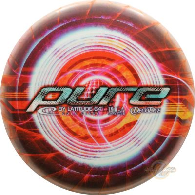 Latitude 64 DecoDye Red Circles Pure
